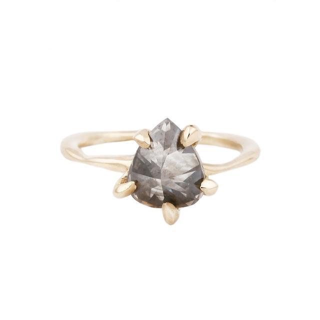 Lauren Wolf Diamond Claw Ring