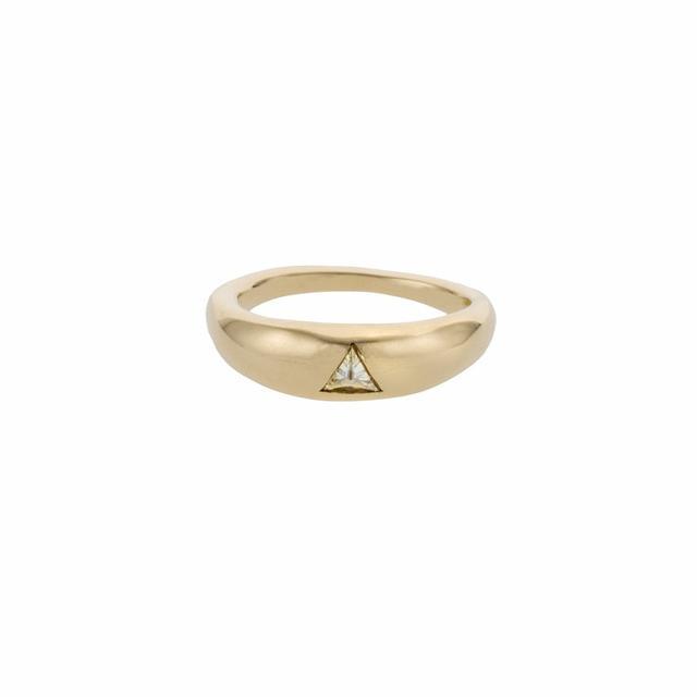 Lauren Wolf Trillion Diamond Ring