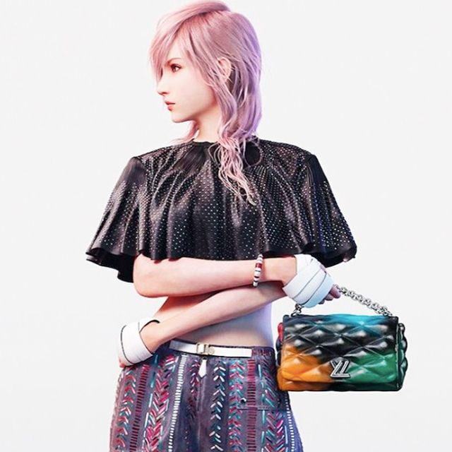 There Are Video Game Characters in Louis Vuitton's Spring 2016 Campaign