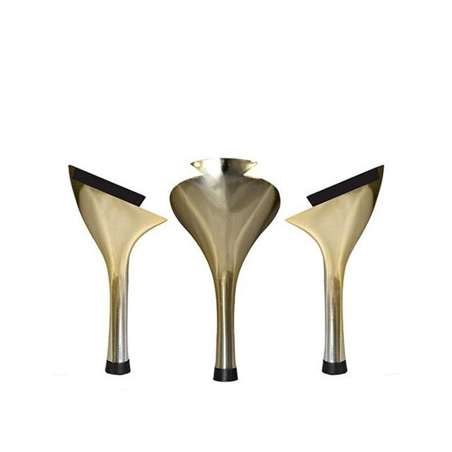Tanya Heath Paris François Metallic Gold Stiletto