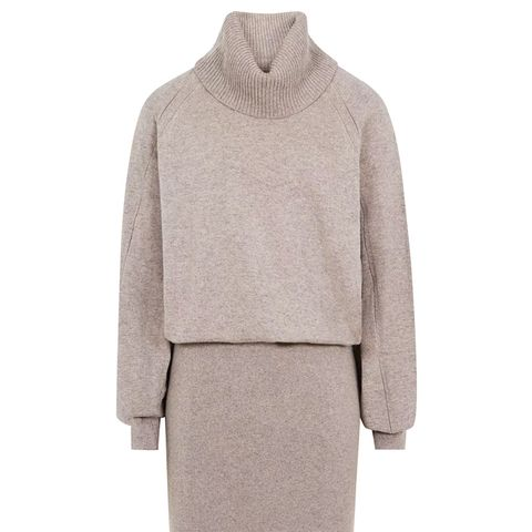 Cyra Knitted Rollneck Dress