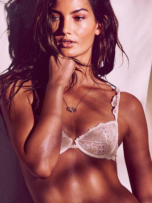 Victoria's Secret Ruffle-Trim Unlined Demi Bra