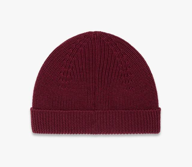 Melindagloss Burgundy Knitted Cap