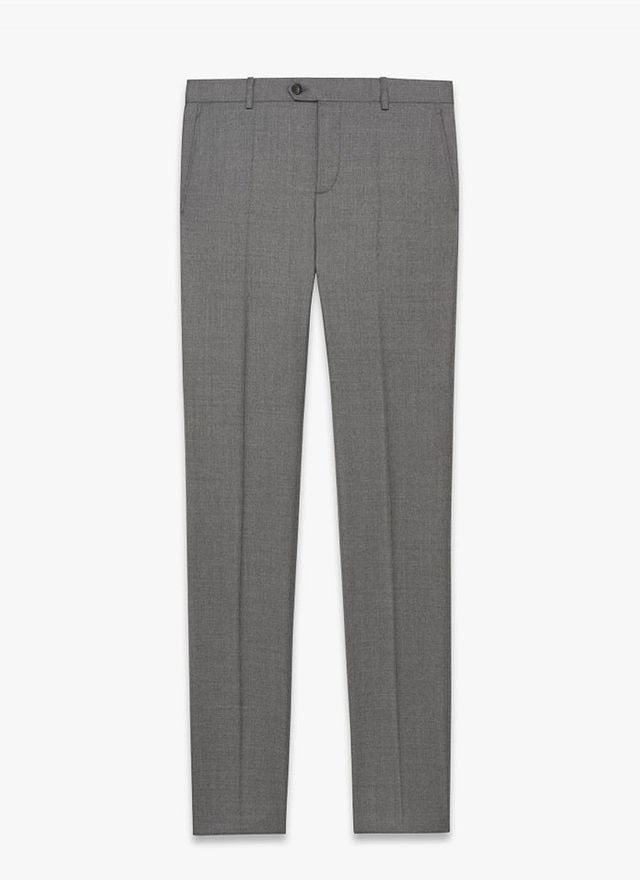 Melindagloss Light Grey Tailored Pants