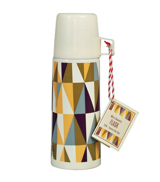 Posh Totty Design Interiors Metro Geometric Flask And Cup