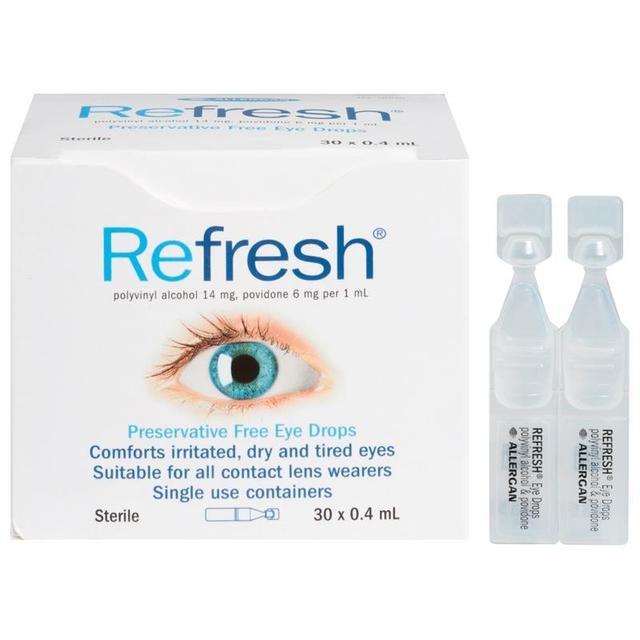 Refresh Preservative Free Eye Drops