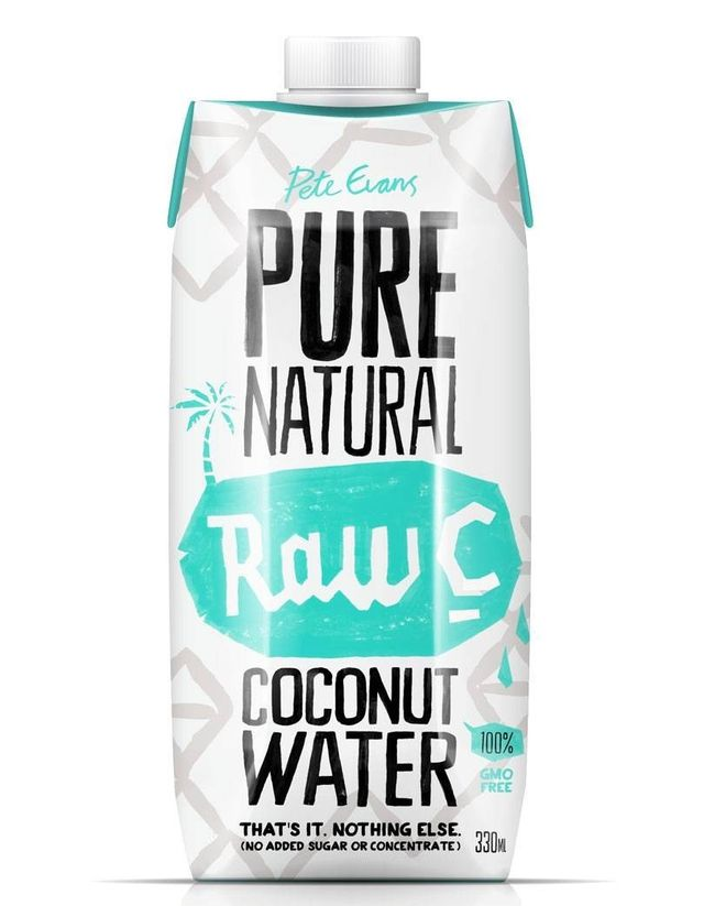 Raw C Pure Natural Coconut Water- case of 12