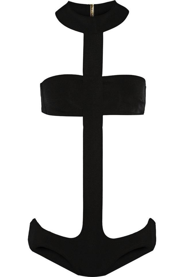 La Perla Anchor Cutout Neoprene Swimsuit
