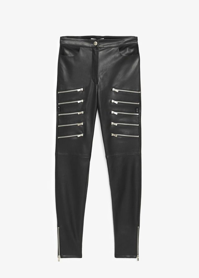 Mango Zip Trousers