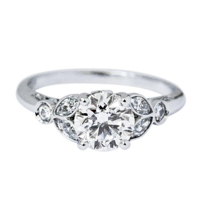 Soho Gem Vintage Style Diamond Engagement Ring