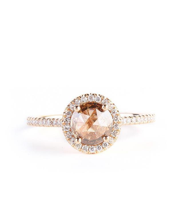 Suzanne Kalan 18k Rose Gold Ring