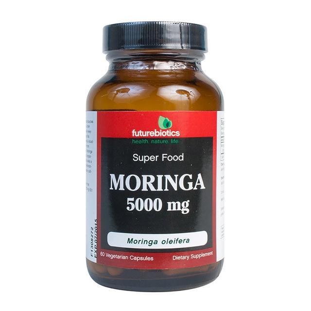 Future Biotics MORINGA 5000mg 60 Vegetarian Capsules