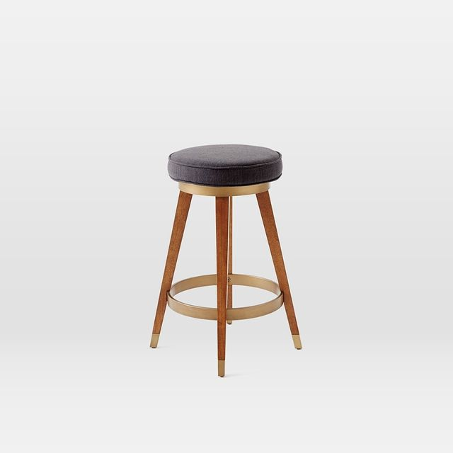 West Elm Mid-Century Swivel Bar + Counter Stool