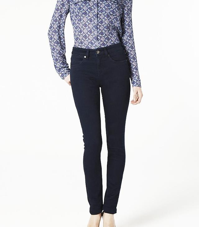 Ida Ivy Skinny Jeans in Deep Sea