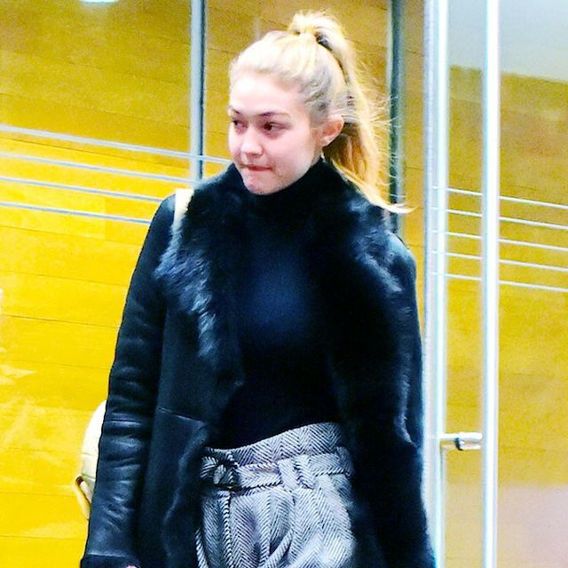The Winter Coat Trend Gigi Hadid Loves