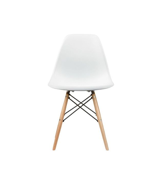 2xhome Set of Two Eames-Style Side Chairs