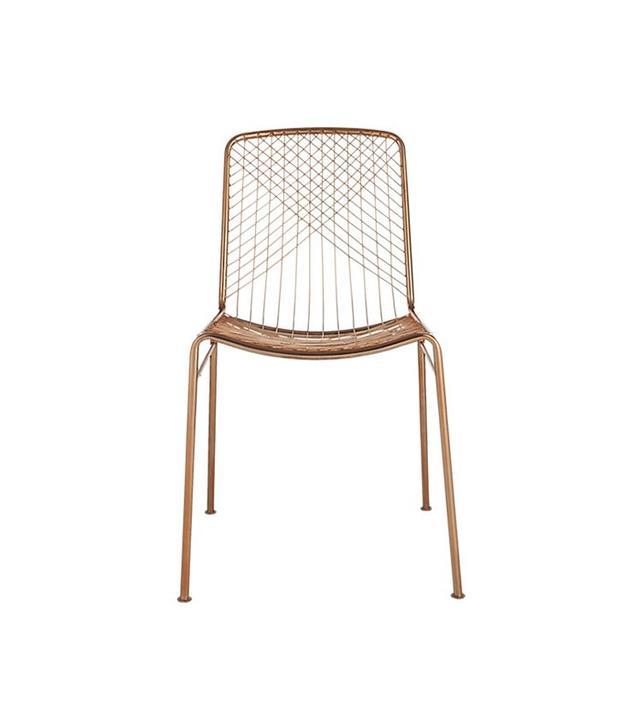 CB2 Beta Rose Chair