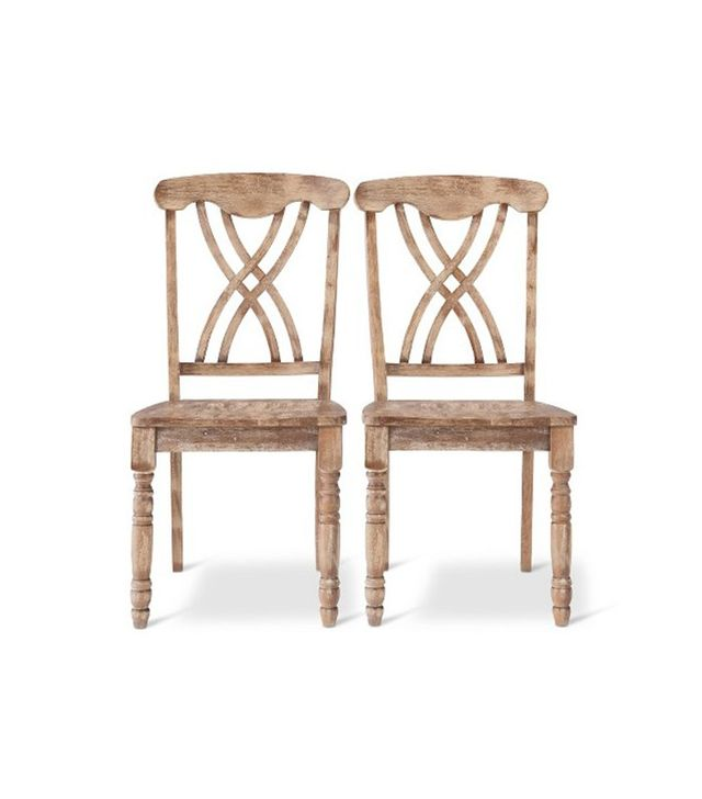 Target Set of 2 Hadley Wire Brushed Dining Chairs