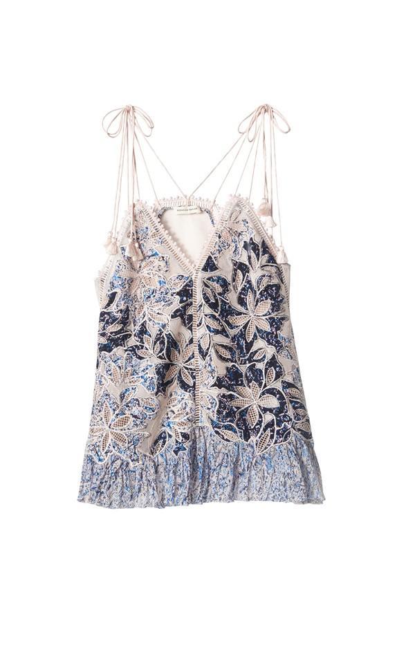 Rebecca Taylor Embroidered Camisole