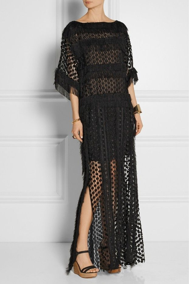 Chloé Lace Maxi Dress