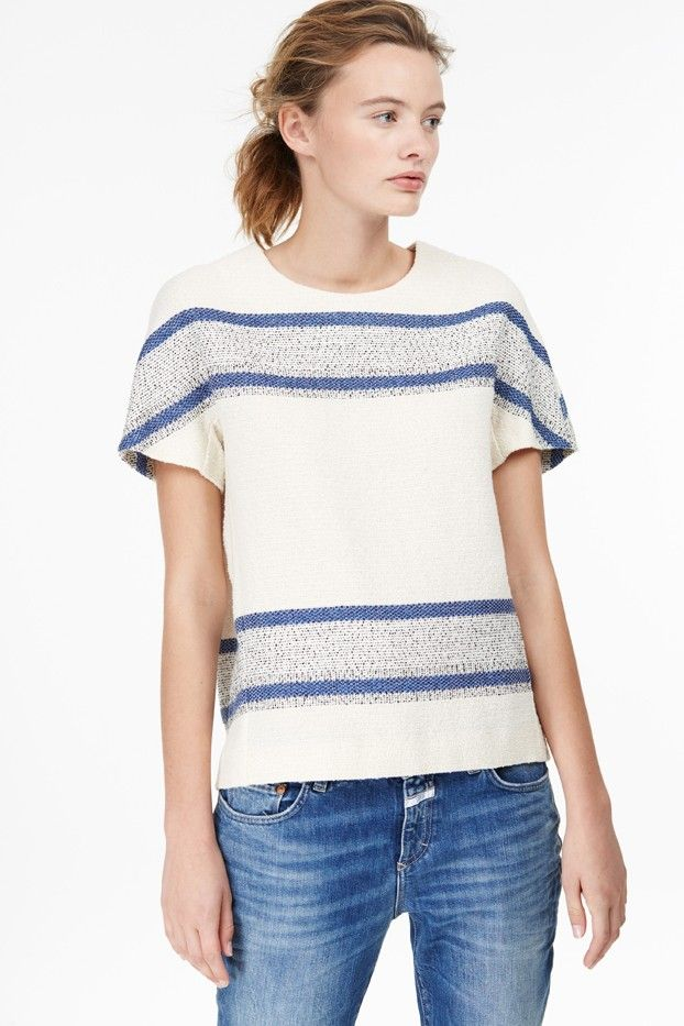 Closed Top With Stripes