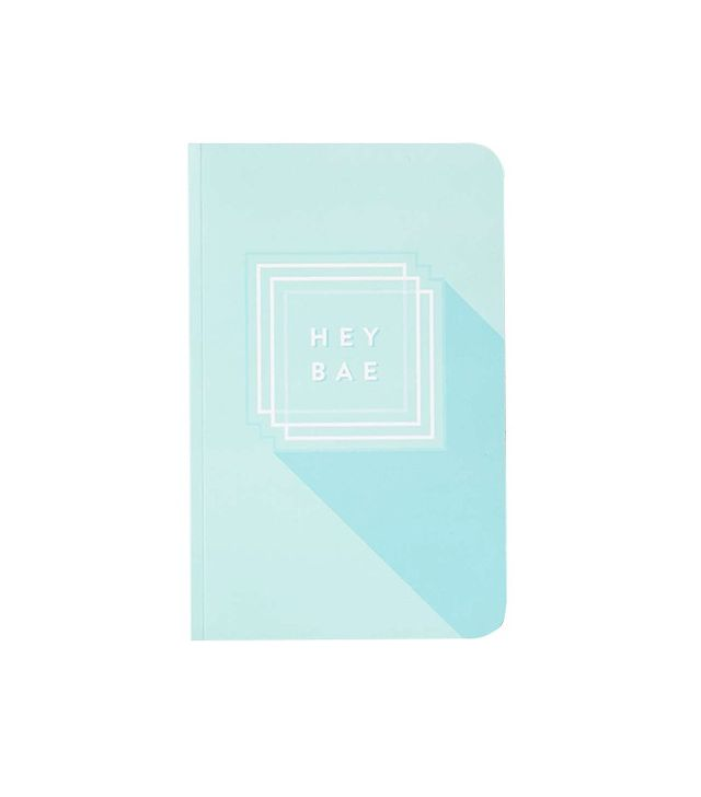 Urban Outfitters Hey Bae Notebook