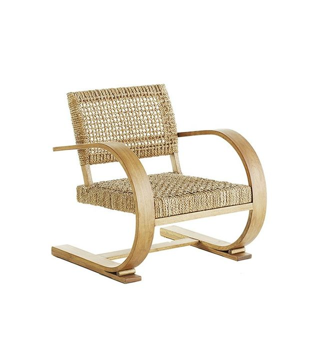 Wisteria French Modernist Armchair