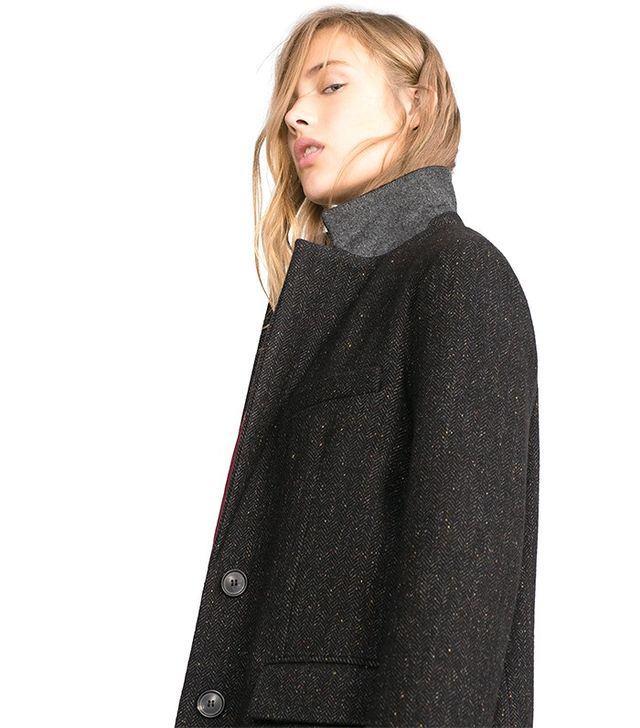 Zara Straight-Cut Coat