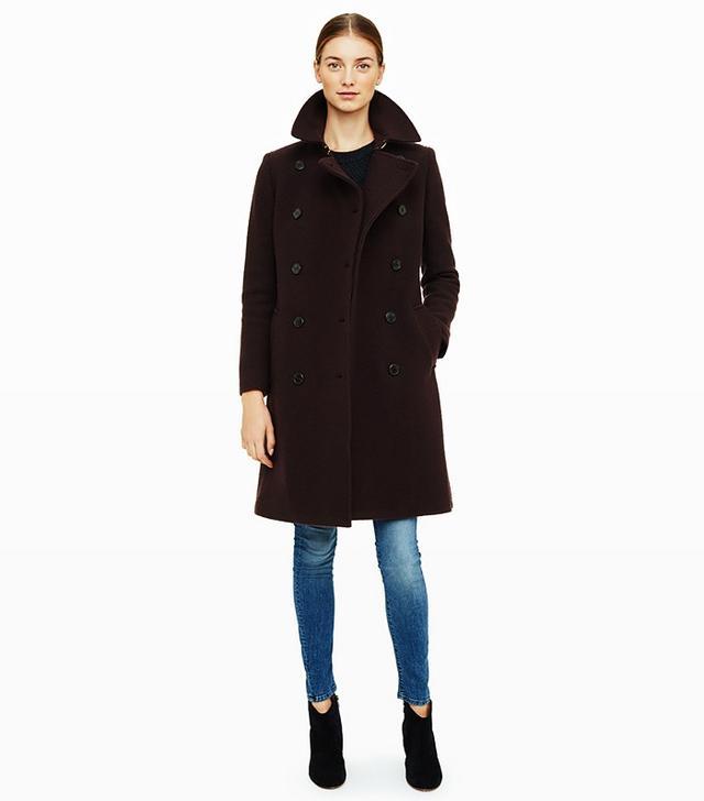 Club Monaco Sabreen Wool Coat