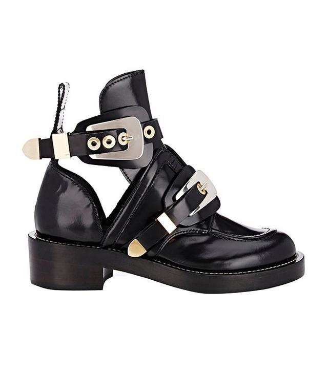 Balenciaga Double-Buckle-Strap Boots