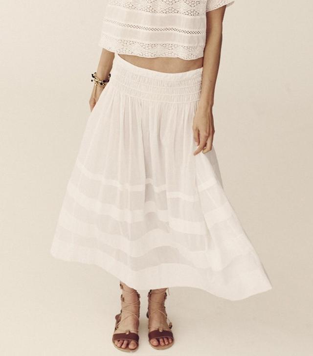 LoveShackFancy Margaux Skirt