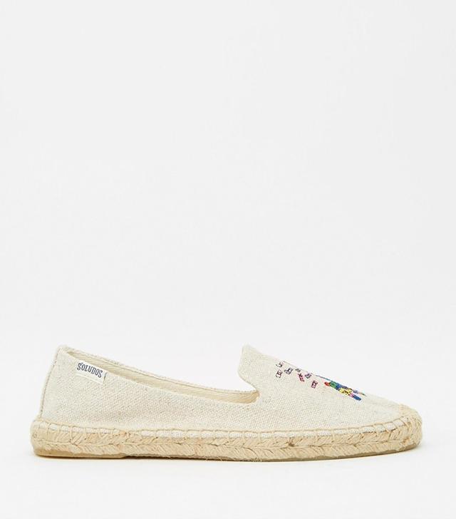 Soludos X Jason Polan Piñata Espadrille Flat Shoes