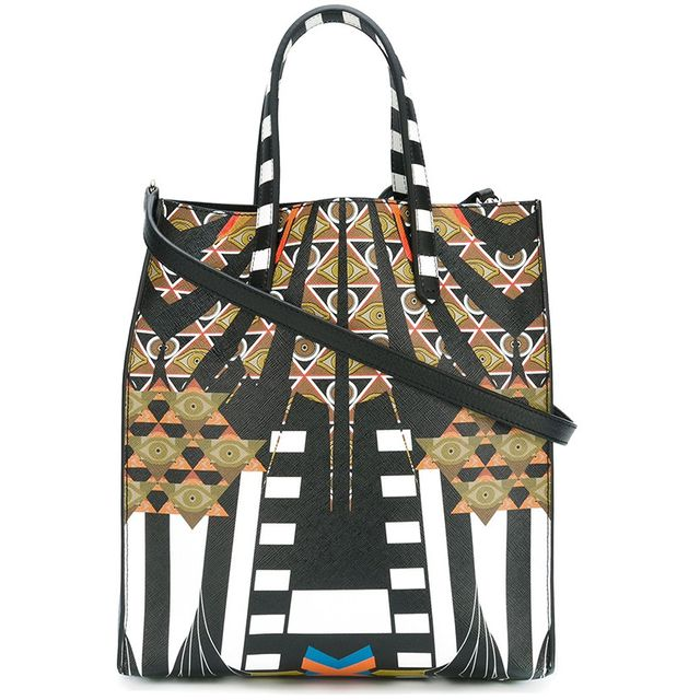 Givenchy Medium Egyptian Art Deco Printed Tote