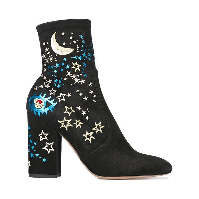 Valentino Valentino Garavani Astro Couture ankle boots