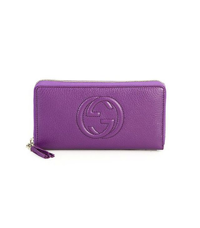 Gucci Soho Leather Zip-Around Wallet