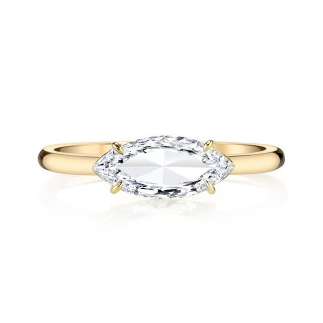 Anita Ko Marquis-Cut Diamond Ring