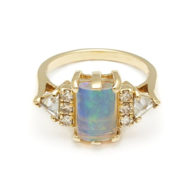 Anna Sheffield Bea Opal Ring