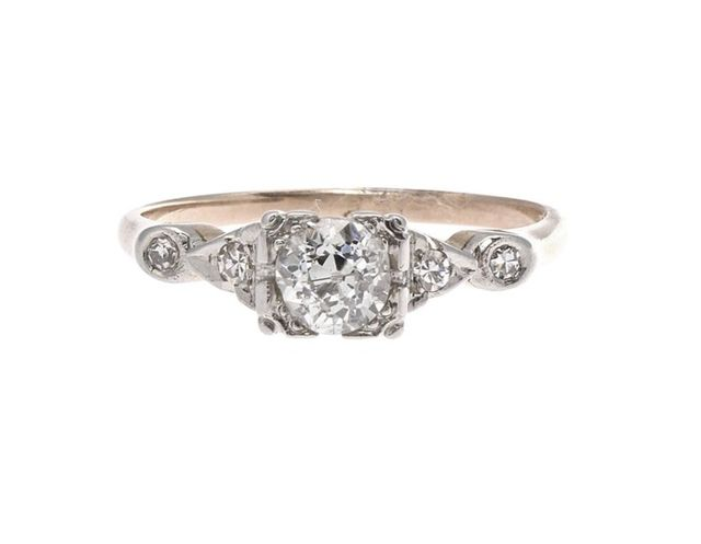 Jack Weir Victorian Diamond Engagement Ring