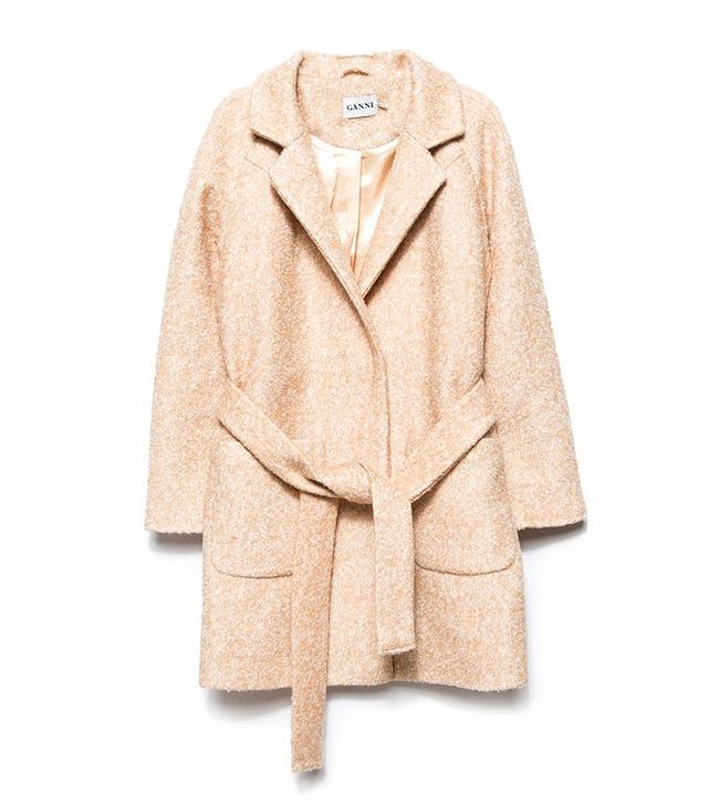 Ganni Washington St. Wrap Coat