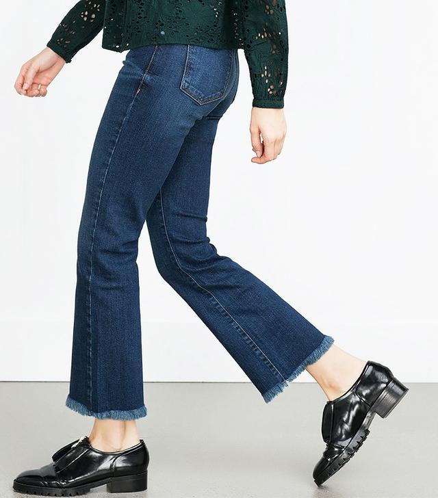 Zara Denim Trousers