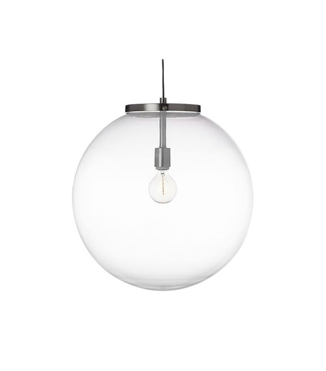 CB2 Soneca Frosted Pendant Light