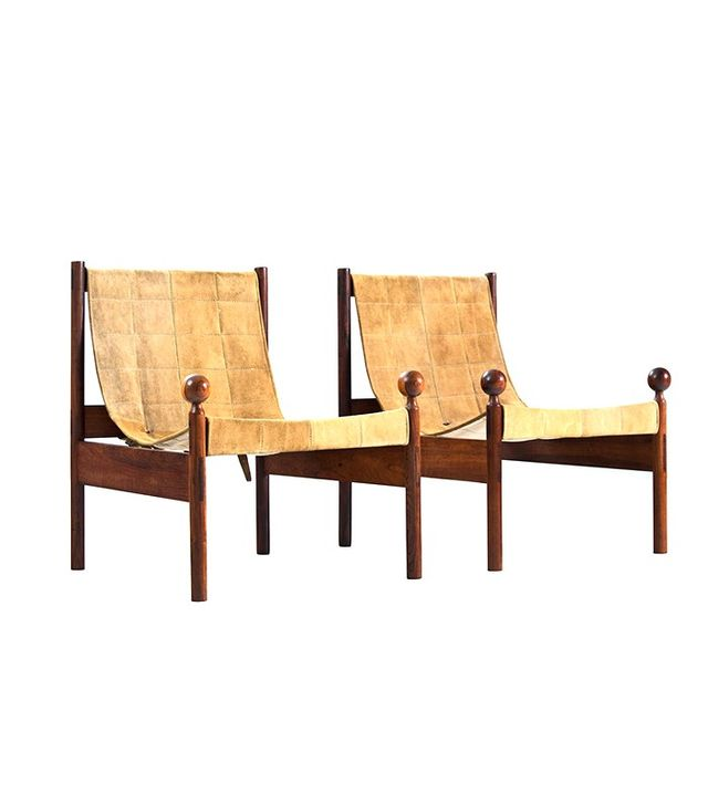 """Jorge Zalszupin Pair of """"Ouro Preto"""" Chairs"""