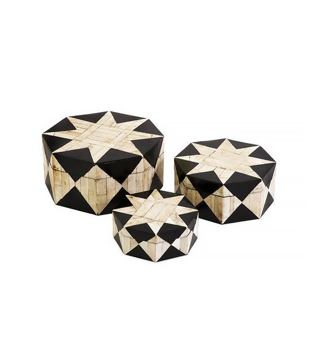 Dot & Bo Set of 3 Moroccan Star Boxes
