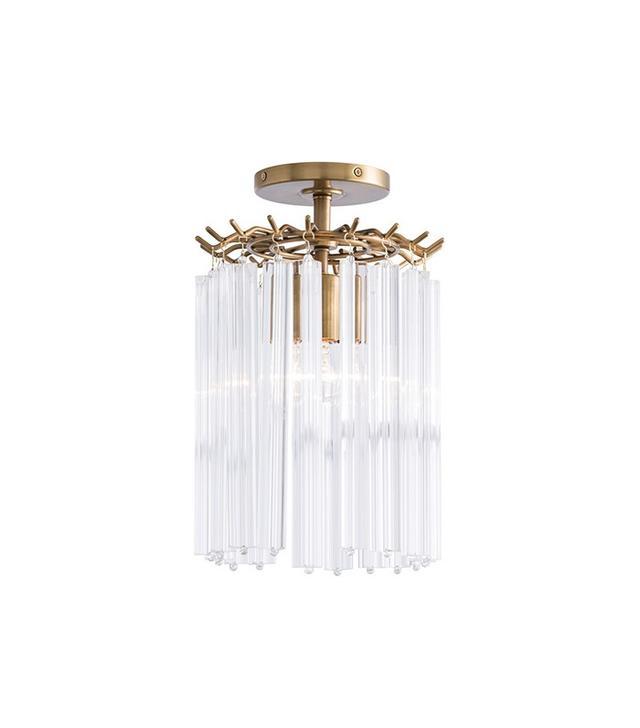 Pieces Mini Glass Chandelier Pendant