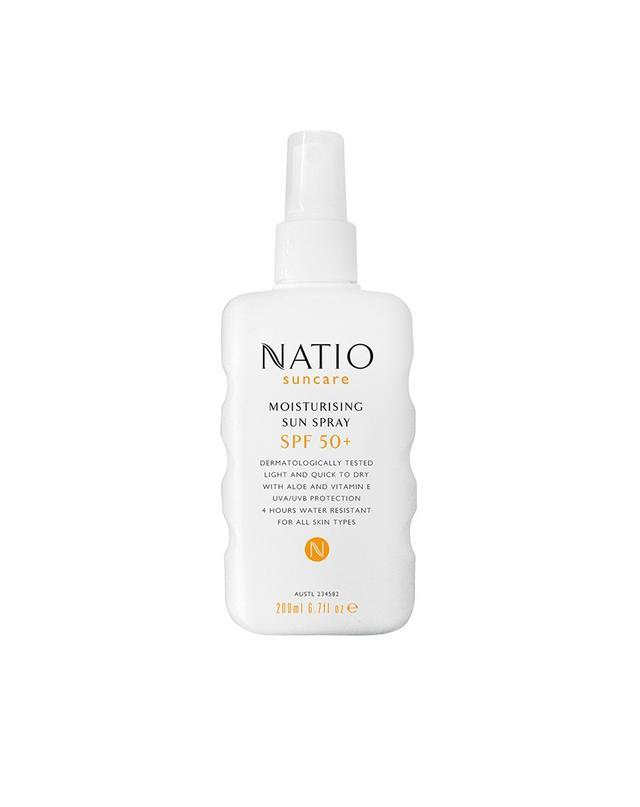Natio Moisturising Sun Spray SPF 50+
