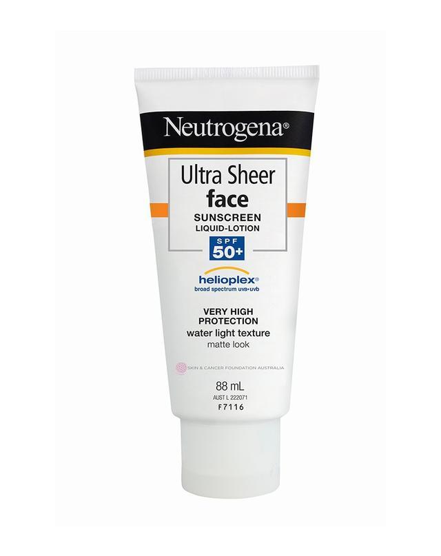 Neutrogena Ultra Sheer Face Sunscreen Lotion SPF 50+