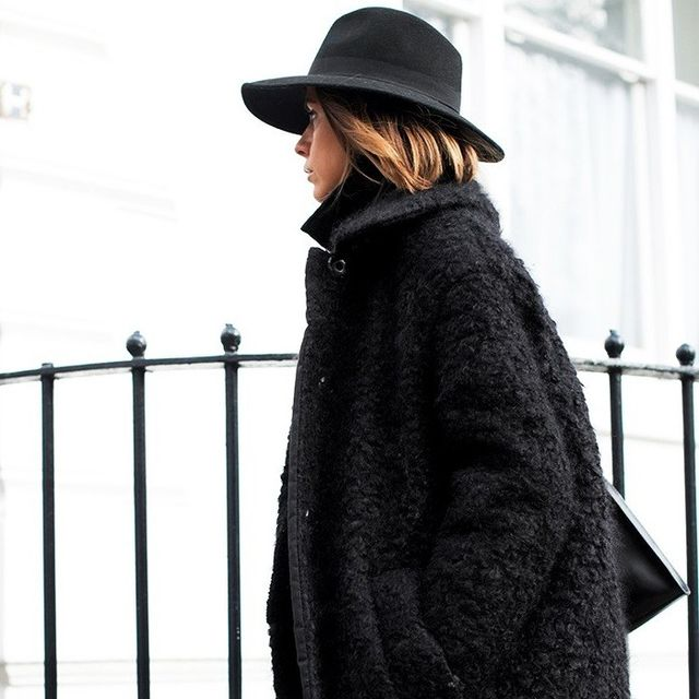 A Blogger-Approved Way to Add Texture to Your All-Black Winter Look