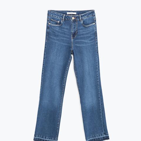 Mini Flare Jeans