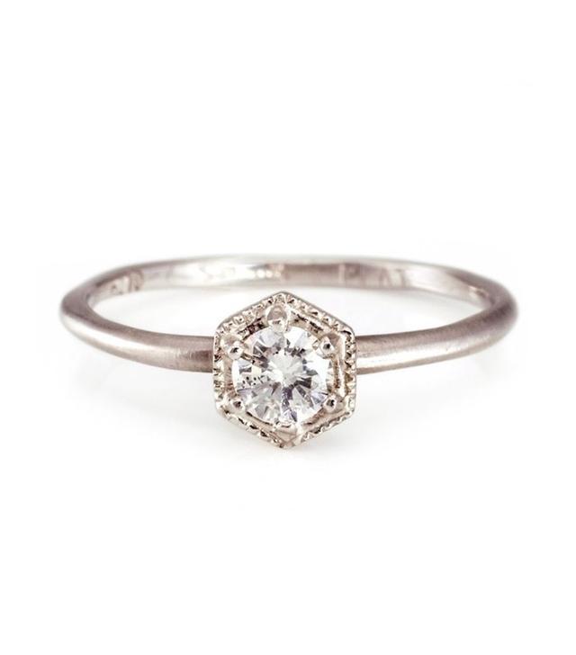 Satomi Kawakita Hexagon Ring
