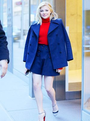 The Celeb-Approved Way to Wear Bare Legs This Winter